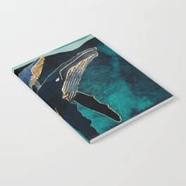 Moonlit Whales Notebook
