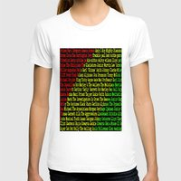 reggae T-shirts featuring Reggae Artist - Roll Call by The Peanut Line