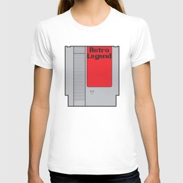 Retro Legend Gaming Quote T-shirt