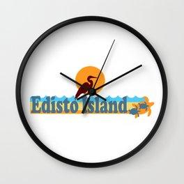 Edisto Island - South Carolina. Wall Clock
