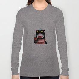 Sailor Kitten Long Sleeve T-shirt