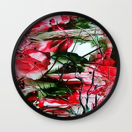 BurningSun Wall Clock