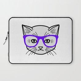 Hipster Kitty Laptop Sleeve