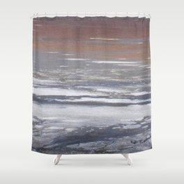 Alkali Lake Shower Curtain