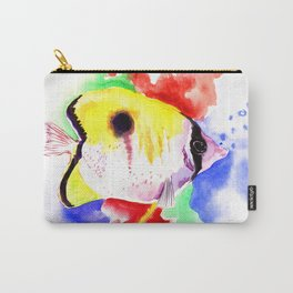 HAwaiian Coral Fish Carry-All Pouch