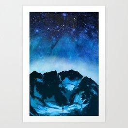 Cassiopeia Night Art Print