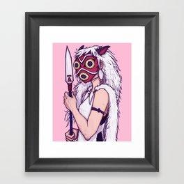 Mononoke Framed Art Print
