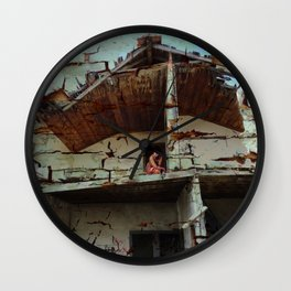 I Fall to Pieces II Wall Clock