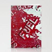 pocket fuel Stationery Cards featuring Fuel by AmandaMuses