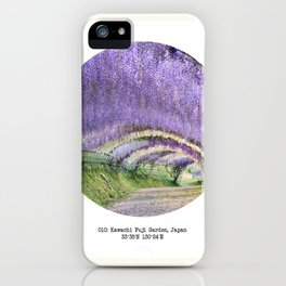 010: Kawachi Fuji Garden iPhone Case