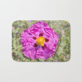 Creased Flora Bath Mat