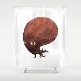The kraken godess with the golden eyes Shower Curtain