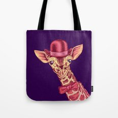 I'm too SASSY for my hat! Pink Giraffe. Tote Bag