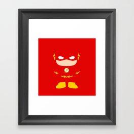 Flash! Framed Art Print