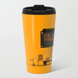 One Less Traveled Travel Mug