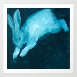 Ghost Bunny VI Art Print