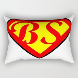 BS superhero Rectangular Pillow