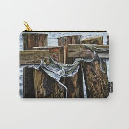 Tattered And Torn Carry-All Pouch
