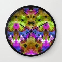 Petalos IV Wall Clock