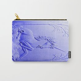 Purple Unicorn Solitude Carry-All Pouch
