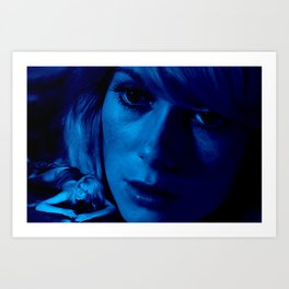 Catherine Deneuve @ Repulsion Art Print