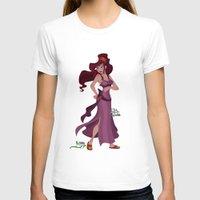 hercules T-shirts featuring Meg / Megara - Hercules by Teo Hoble