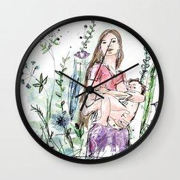 Natural Breastfeeding Wall Clock