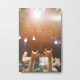 Rock and roll! Metal Print