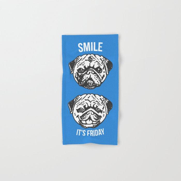 Smile It's Friday! Hand & Bath Towel