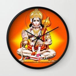 Hindu - Hanuman 2 Wall Clock