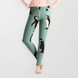 Penguin Pattern5 Leggings