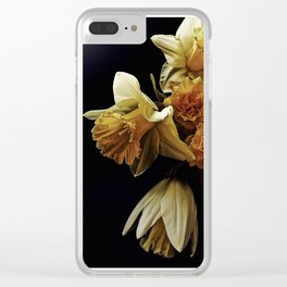 Spring Daffodil Bouquet; You're the Only One Clear iPhone Case