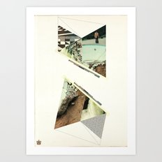 Storm on the Island Art Print