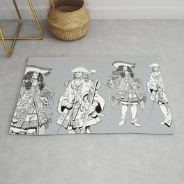 Muskets Rug