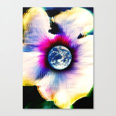 WORLD TURNS Canvas Print