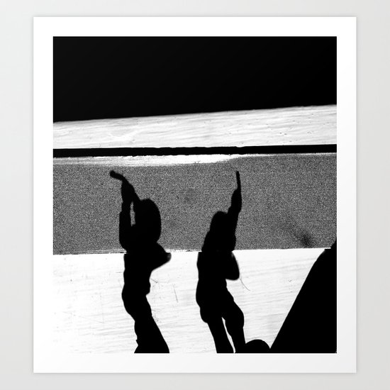 ShadowS Of The Dead Art Print