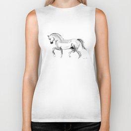 Horse (dressage) Biker Tank
