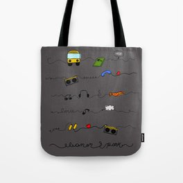 Eleanor&Park B Tote Bag
