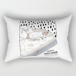 Home is Rectangular Pillow