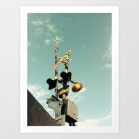 crossing Art Print