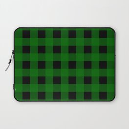 Pine Green Buffalo Check - more colors Laptop Sleeve