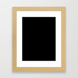 Coffee. Poop. Life. Framed Art Print