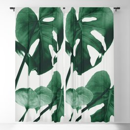 Monstera Vibes #1 #minimal #green #decor #art #society6 Blackout Curtain