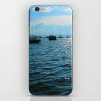 sailing iPhone & iPod Skins featuring Sailing by Rene Robinson
