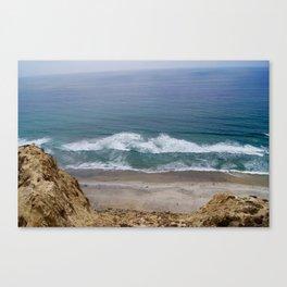 Torrey Pines Beach Canvas Print