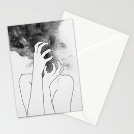 Losing thoughts. Stationery Cards