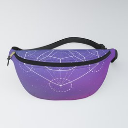 Dodecahedron Fanny Pack