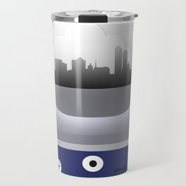 Milwaukee - MKE - Airport Code and Skyline Travel Mug
