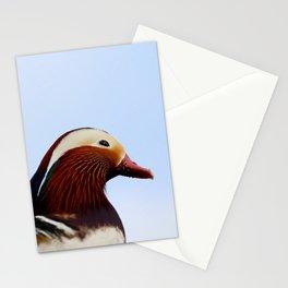 Mandarin Duck Stationery Cards