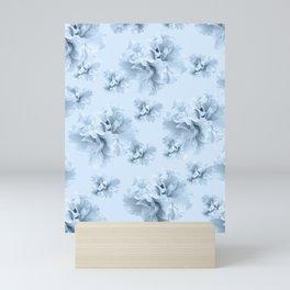Light Blue Azalea Flower Dream #1 #floral #pattern #decor #art #society6 Mini Art Print